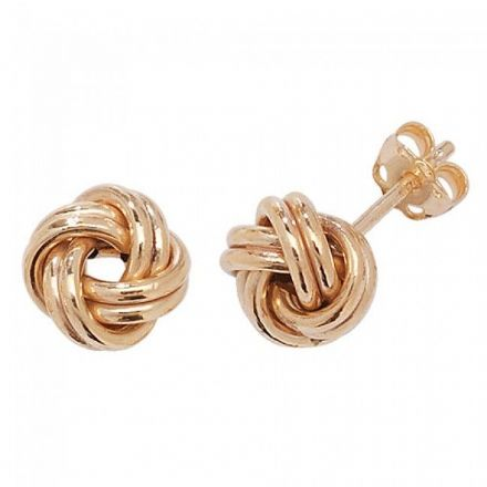 Just Gold Earrings -9 Ct Earrings, ER527